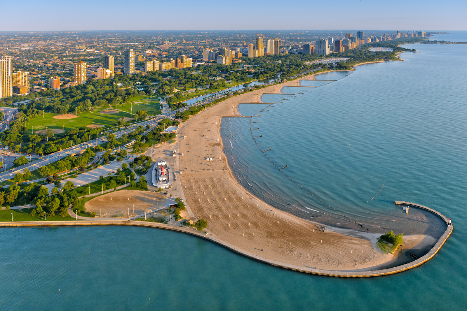 12th Street Beach Chicago, Top Four Places to Propose in Chicago - Proposal Ideas Blog