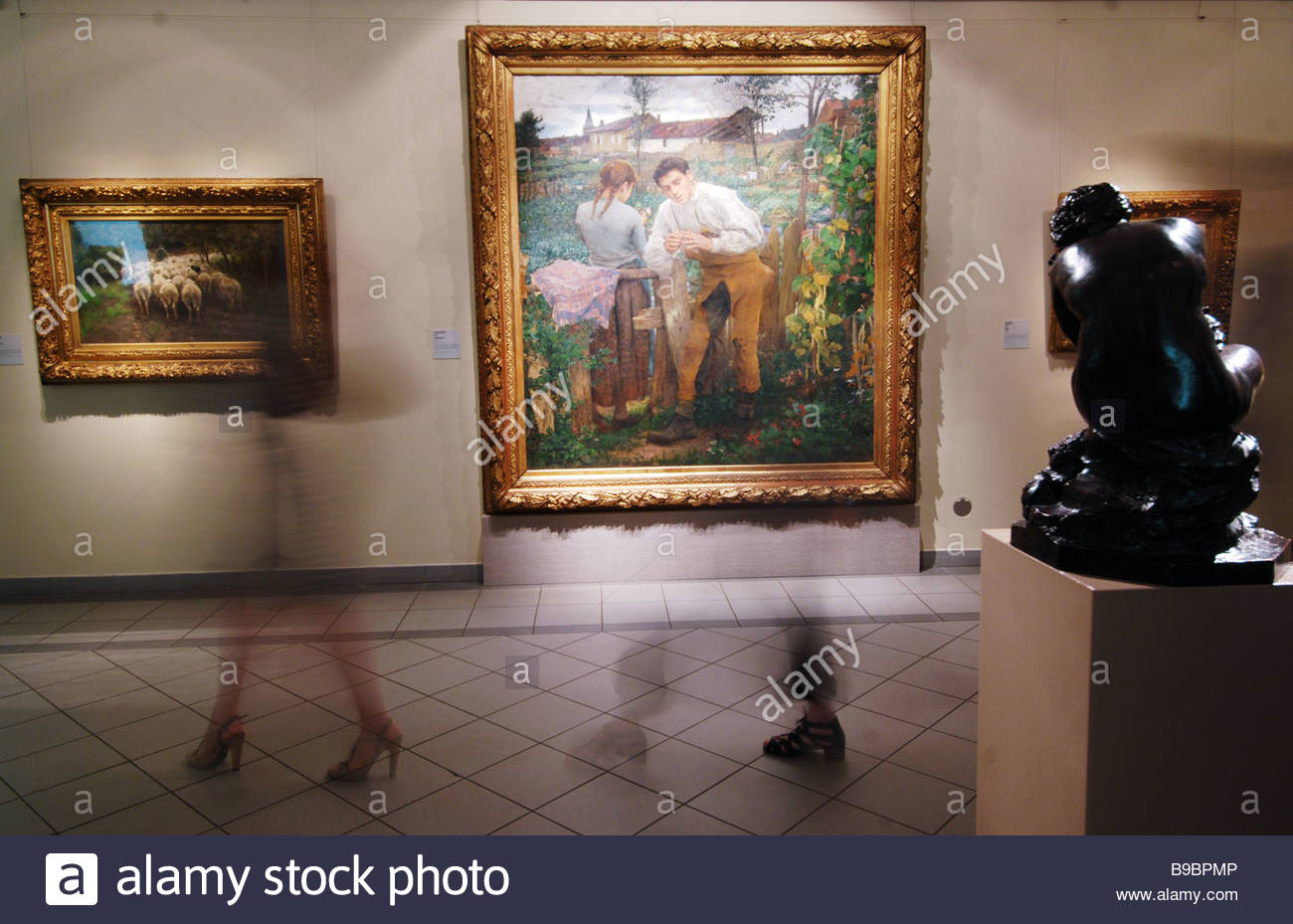 19th & 20th Century Art Gallery Moscow, A 19th and 20th century European and American art gallery has ...