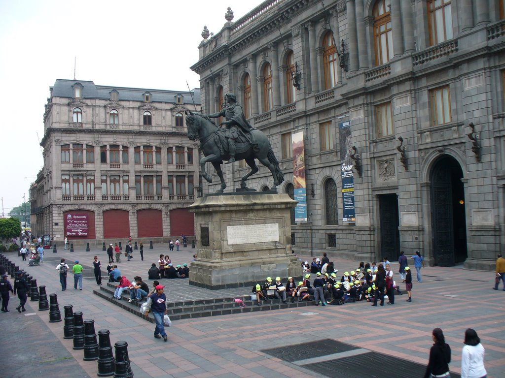 1a Sección Mexico City, Panoramio - Photo of El Caballito (Carlos IV de España) de Manuel ...
