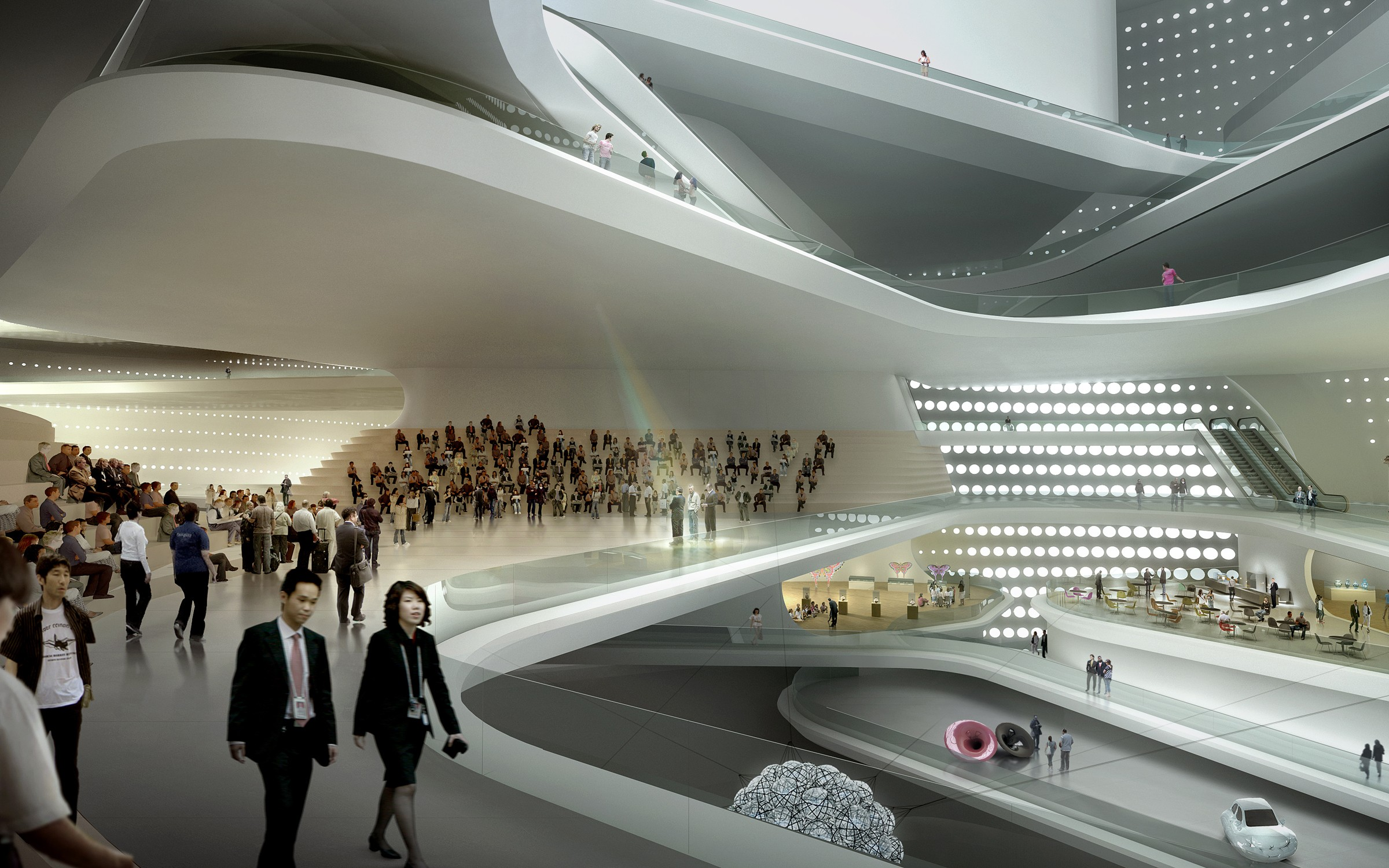 798 Art Factory Běijīng, The National Art Museum of China » UNStudio | R E N D E R S ...