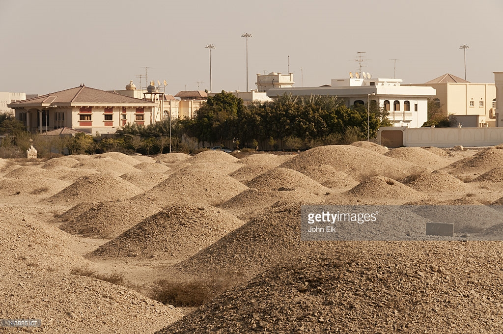 A'Ali Burial Mounds A'Ali, Aali Burial Mounds Stock Photo | Getty Images