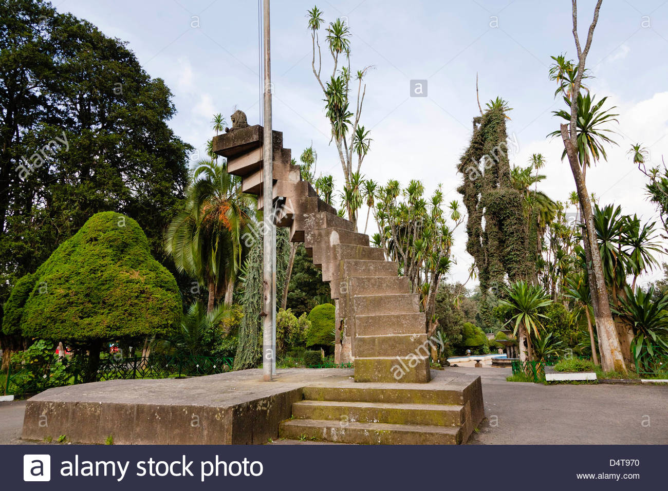 Addis Ababa Park Addis Ababa, Park of the University in Addis Ababa, Ethiopia Stock Photo ...