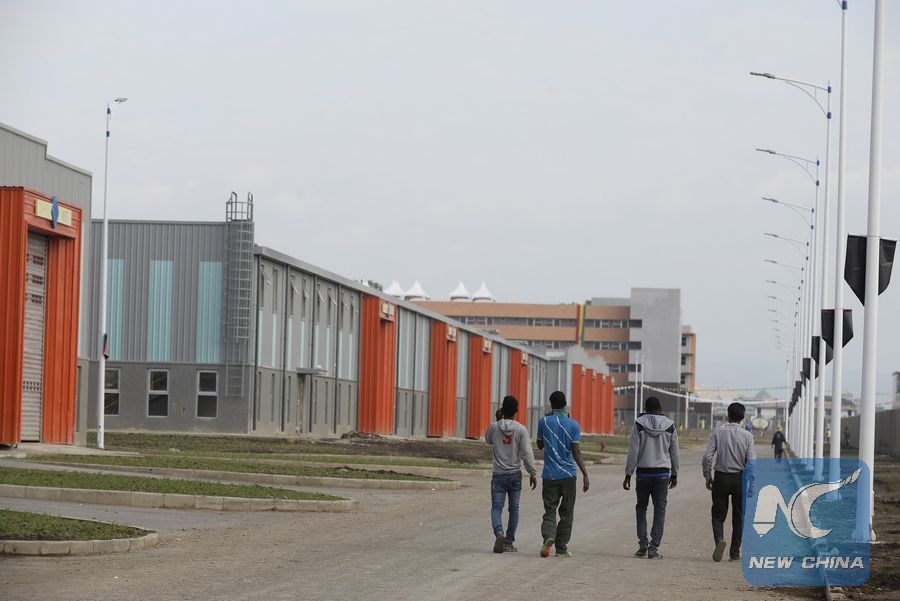 Addis Ababa Park Addis Ababa, inaugurates largest Chinese-built industrial park