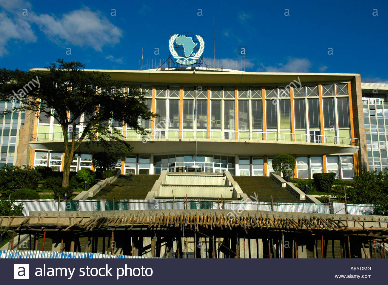 Africa Hall Addis Ababa, Africa hall seat of OAU Addis Abeba Ethiopia Stock Photo, Royalty ...