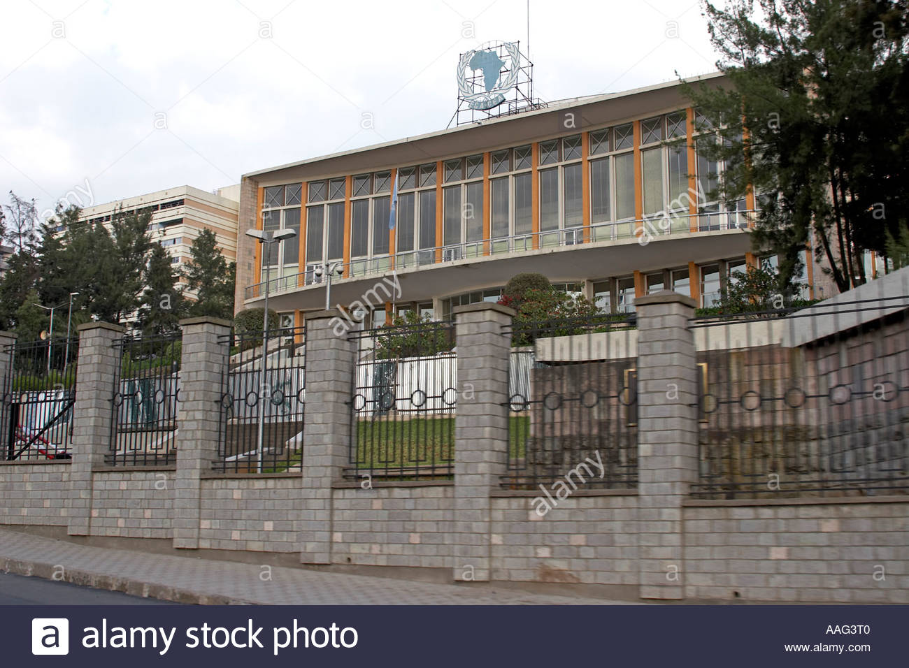 Africa Hall Addis Ababa, Africa Hall UN ECA United Nations Economic Commission for Africa ...
