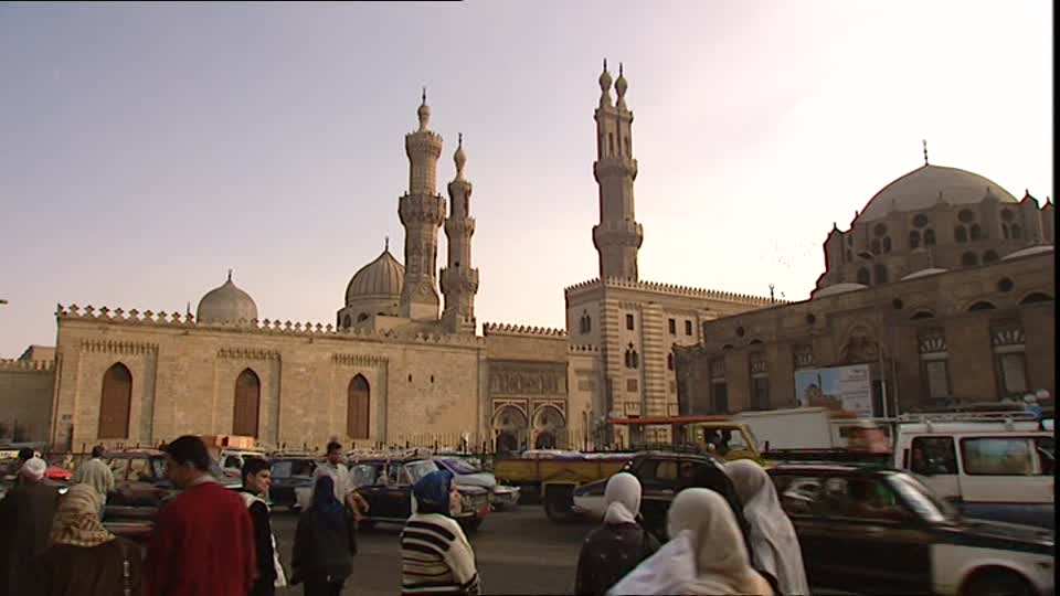 Al Azhar Mosque Cairo, Al-Azhar Mosque / Cairo / Egypt | SD Stock Video 669-818-236 ...