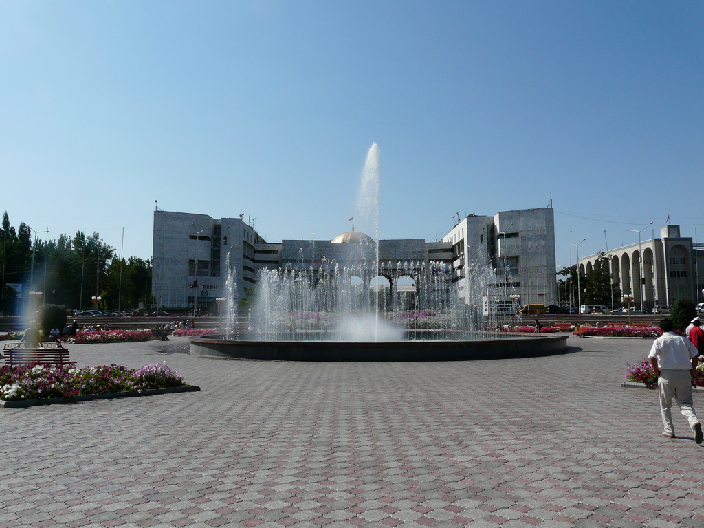 Ala-Too Square Bishkek, Exploring central Bishkek