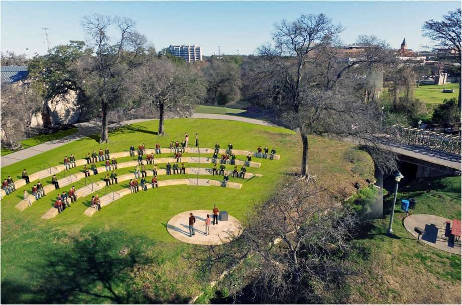 Alcazar Garden San Diego, Big changes planned for Brackenridge Park - San Antonio Express-News