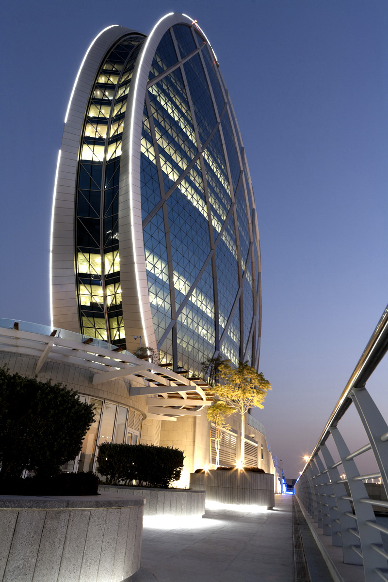 Aldar Headquarters Abu Dhabi, Headquarters of Property Developer Aldar PJSC and Abu Dhabi's ...