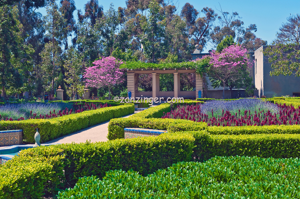 Amici Park San Diego, Alcazar Garden, named because it's design is patterned after the ...