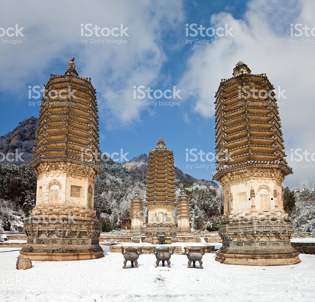 Ancient Observatory Běijīng, Yinshan Pagoda Forest Beijing China stock photo 155369843 | iStock