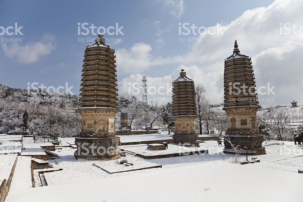 Ancient Observatory Běijīng, Yinshan Pagoda Forest Beijing China stock photo 185281929 | iStock