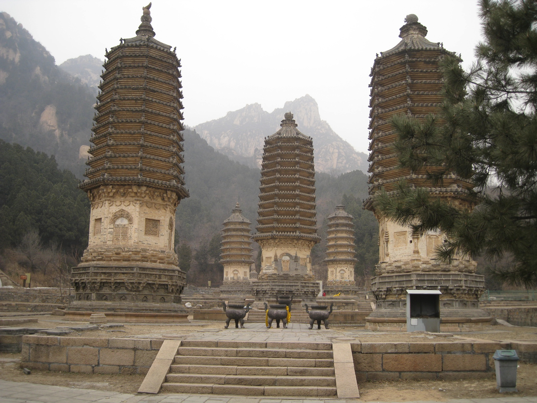 Ancient Observatory Běijīng, Silver Mountain Pagoda Forest (Yinshantalin) (银山塔林 ...