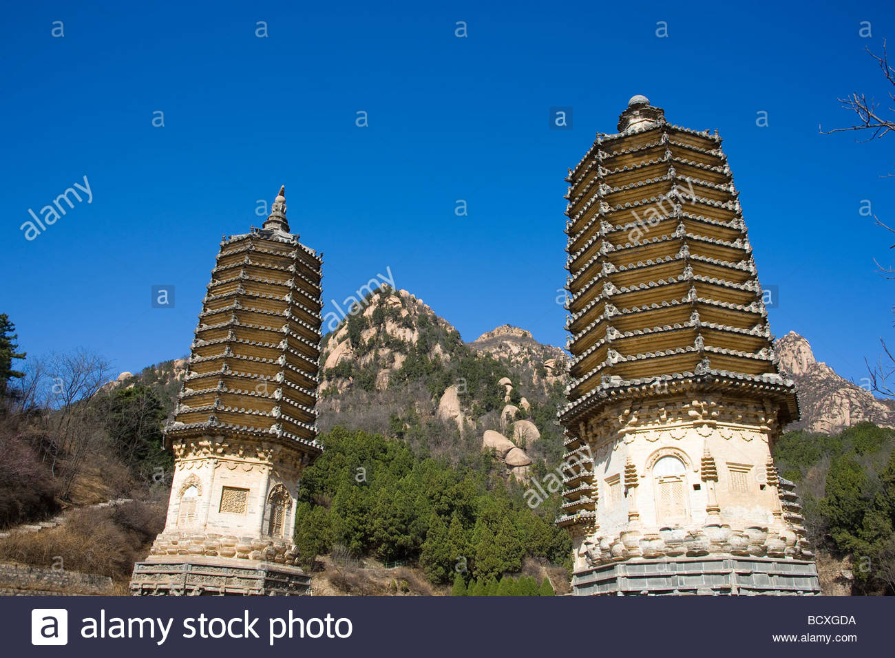 Ancient Observatory Běijīng, Pagoda Forest,Beijing,China Stock Photo, Royalty Free Image ...