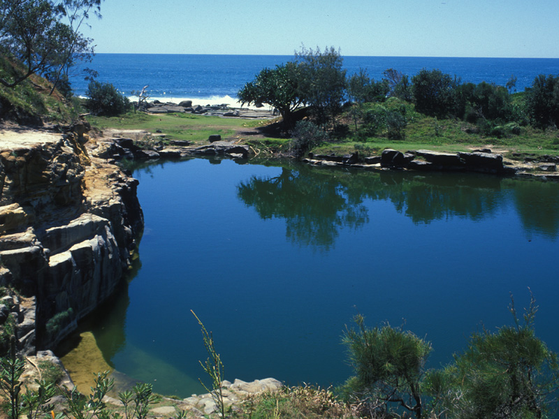 Angourie Blue Pools Yamba & Angourie, Yamba, NSW - Aussie Towns