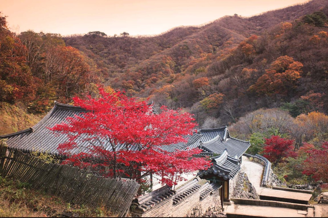 Anguk-sa Muju & Deogyusan National Park, Top Autumn Destinations – Fall Foliage Sites in Korea – HaB Korea.net