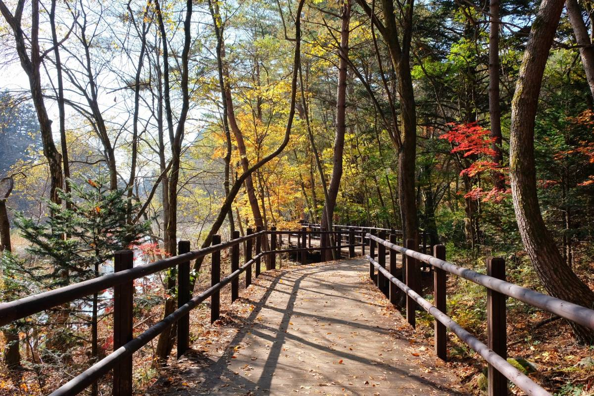 Anguk-sa Muju & Deogyusan National Park, Korea Autumn Foliage Day Tour to Mountains 2017 - Trazy, Korea's ...
