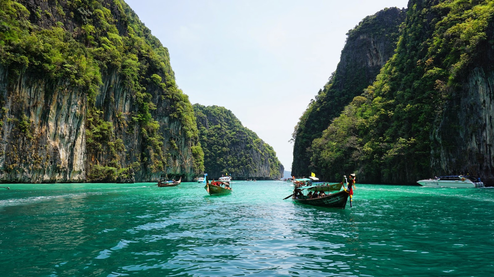 Ao Pileh Ko Phi-Phi Don, Krabi, Koh Phi Phi & Phuket Itinerary (7 days) | Eat. Travel ...