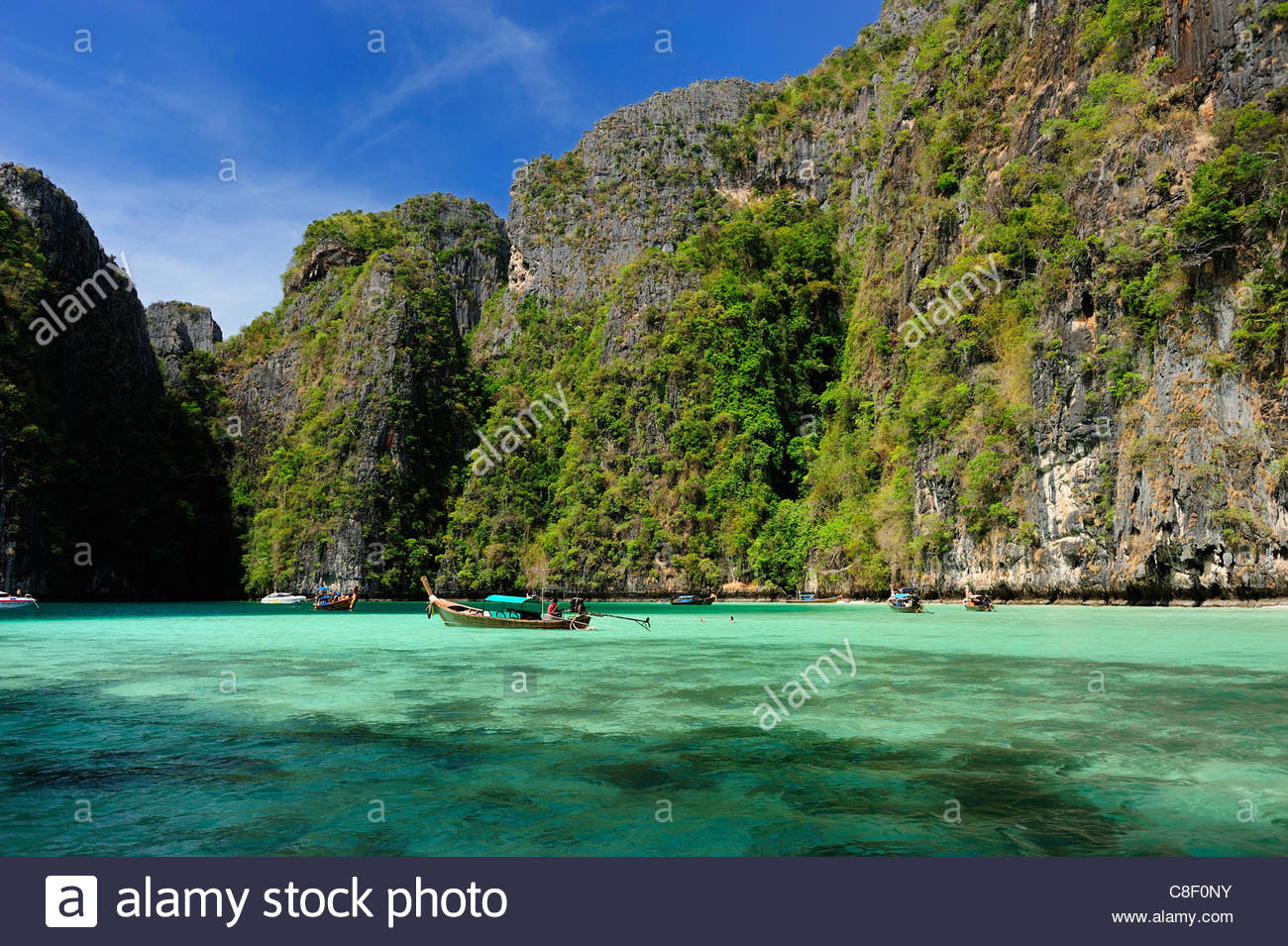 Ao Pileh Ko Phi-Phi Don, Pileh Stock Photos & Pileh Stock Images - Alamy