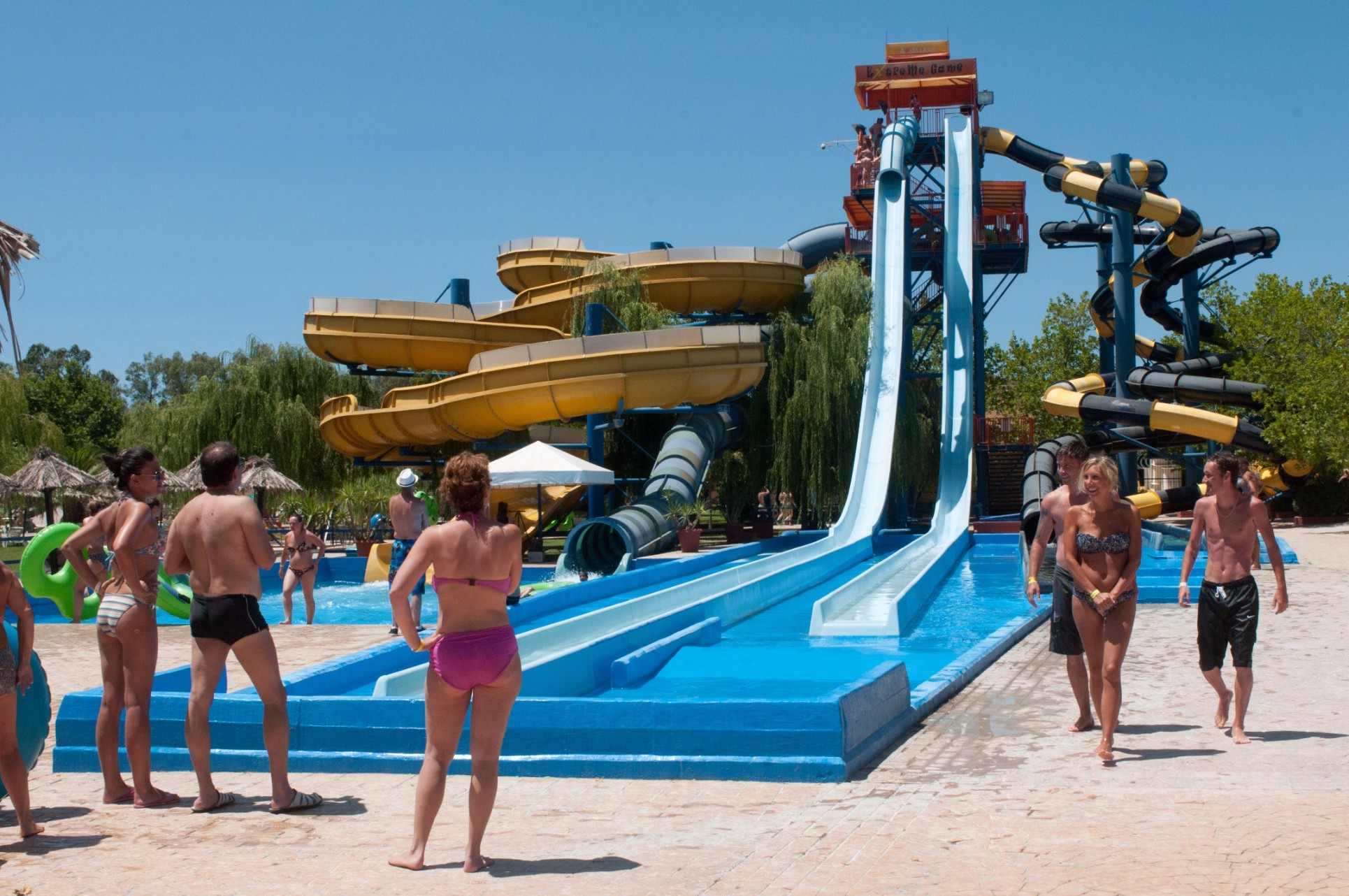Aqualand Water Park Corfu, ATTRACTIONS | AQUALAND Water Park Corfu