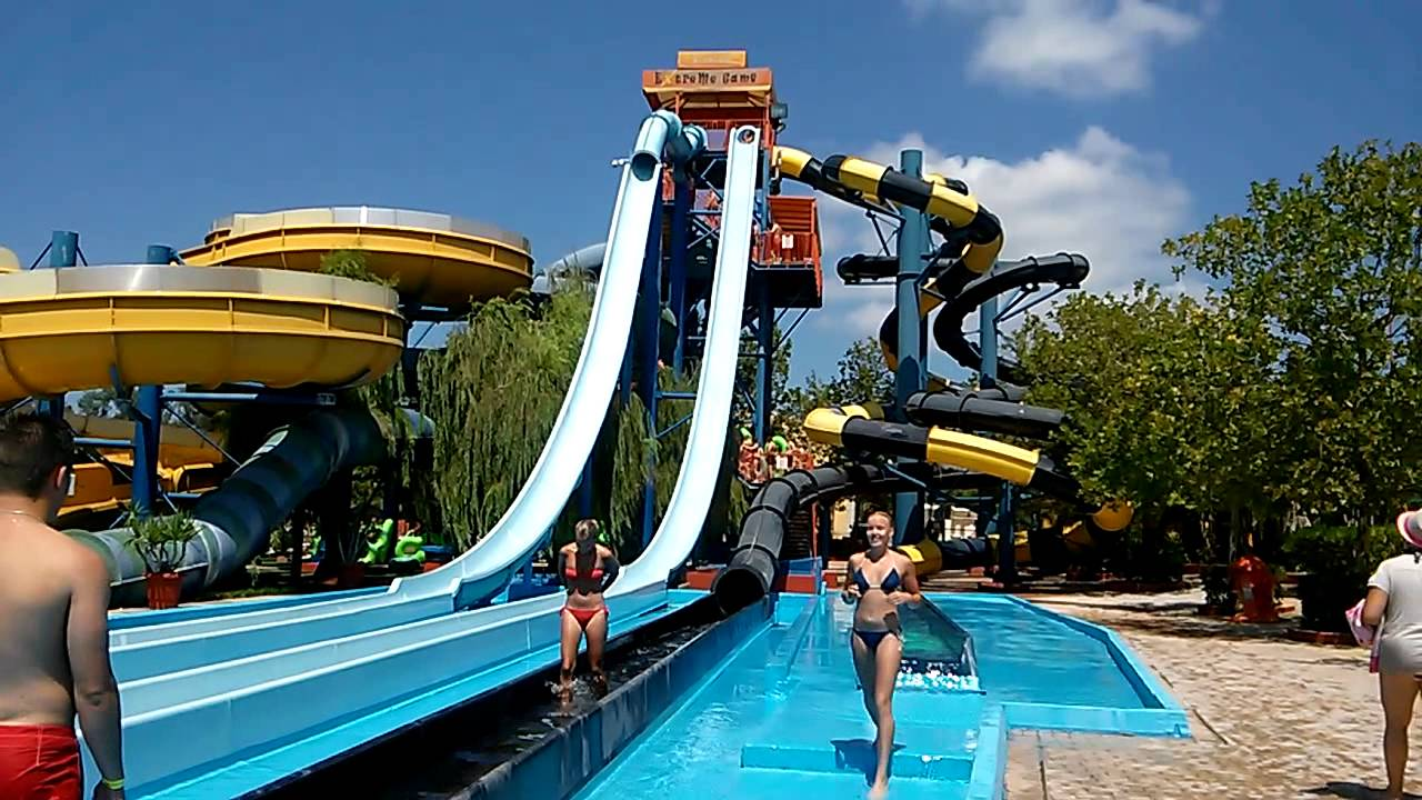 Aqualand Water Park Corfu, Corfu Aqualand HD (Grèce ) - YouTube