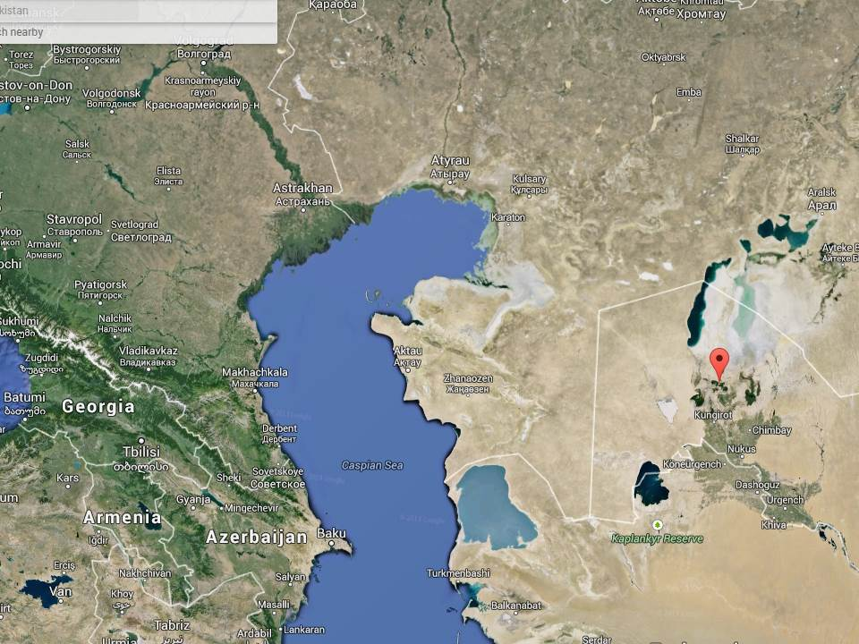 Aral Sea Aral, Aral Sea and the Arctic? – Monkey Ropes