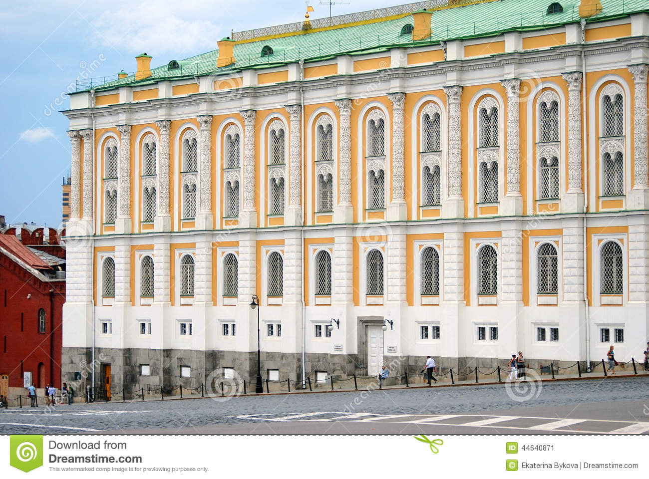 Armory Chamber Moscow, The Armoury Chamber In Moscow Kremlin. UNESCO World Heritage Site ...