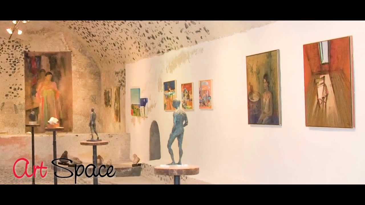 Art Space Santorini, ART SPACE SANTORINI ART GALLERY - MUSEUM- WINERY - YouTube