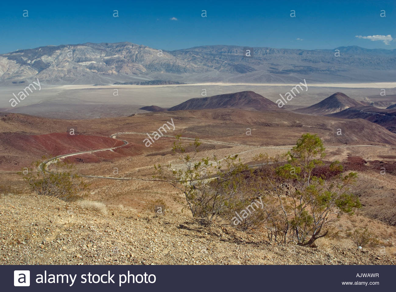 Artist's Palette Death Valley National Park, Panamint Valley Death Valley from Father Crowley Vista Point Stock ...