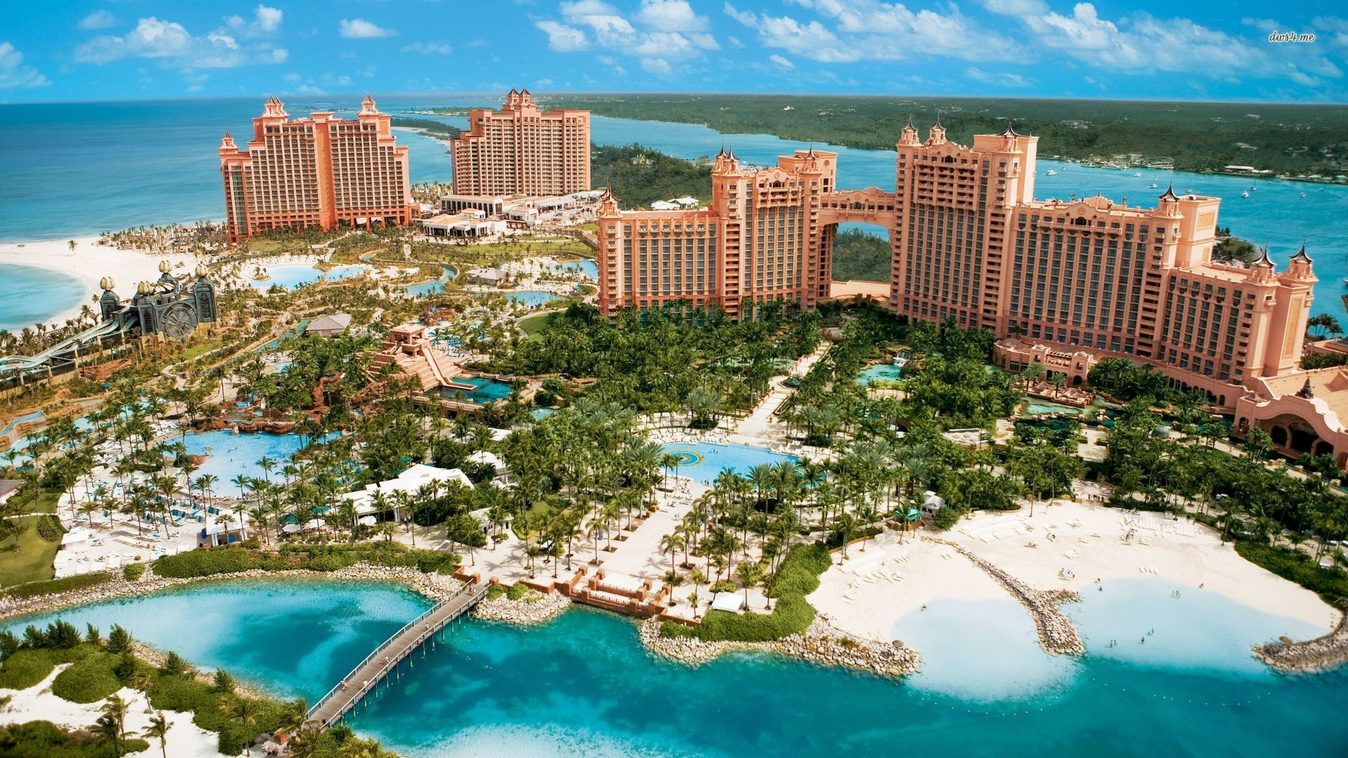 Atlantis Paradise Island New Providence and Paradise Islands, Take a Luxury Trip to Paradise Island, Bahamas - Traveler Corner