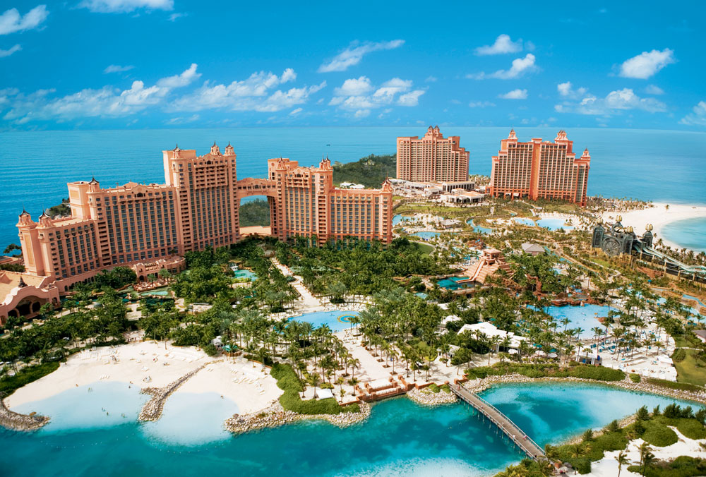 Atlantis Paradise Island New Providence and Paradise Islands, Atlantis Paradise Island, Bahamas - Royal Towers - Beautiful ...
