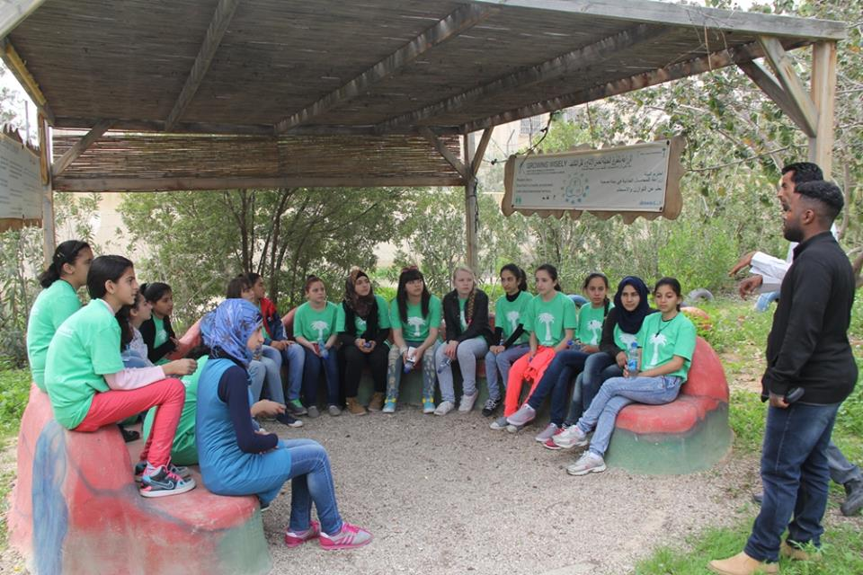 Auja Eco Center Around Jerusalem and the Dead Sea, March 2015 - EcoPeace Middle East