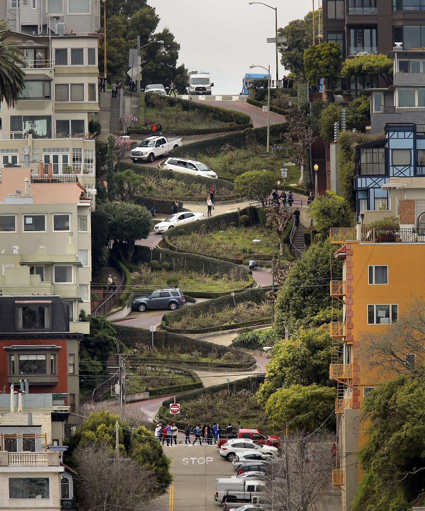 Axford House San Francisco, Visitors driving famed Lombard Street may wind up paying - SFGate