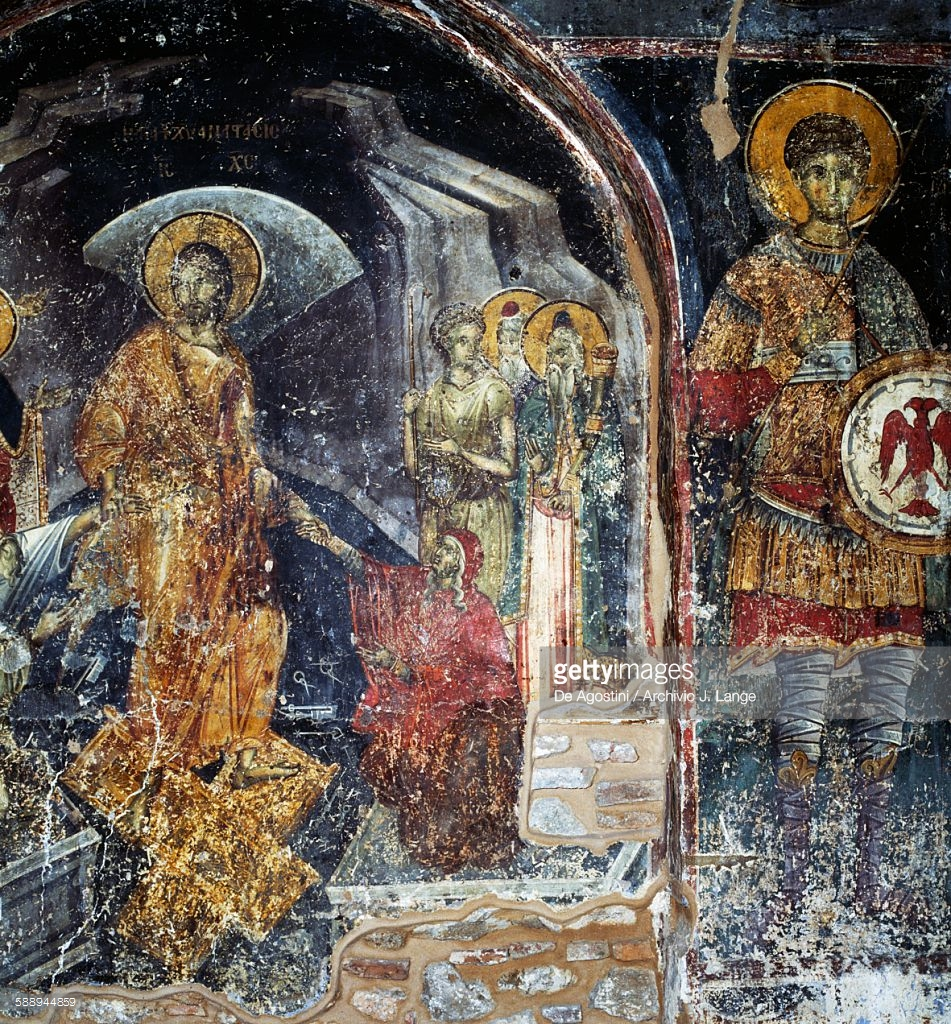 Ayios Nikolaos Orfanos Thessaloniki and Central Macedonia, Scenes Of Life Of Jesus Fresco In Byzantine Church Of Agios ...