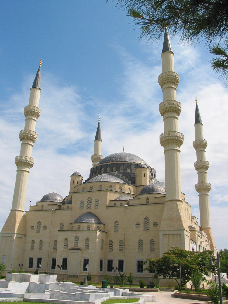 Azadi Mosque Ashgabat, Mosques of Turkmenistan. Most important Mosques around the World.