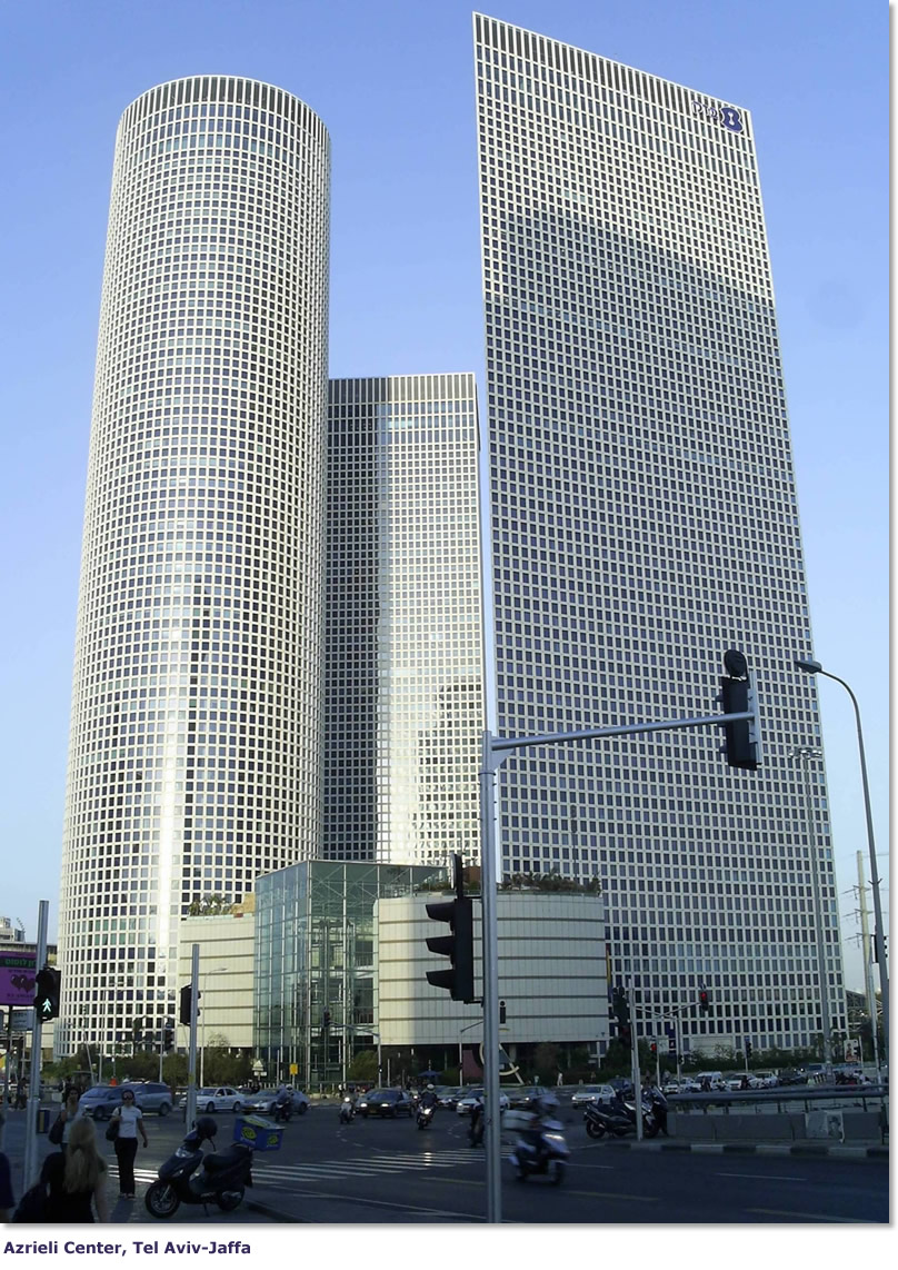 Azrieli Towers Tel Aviv, IsraelGlobal - Azrieli Center, Tel Aviv-Jaffa