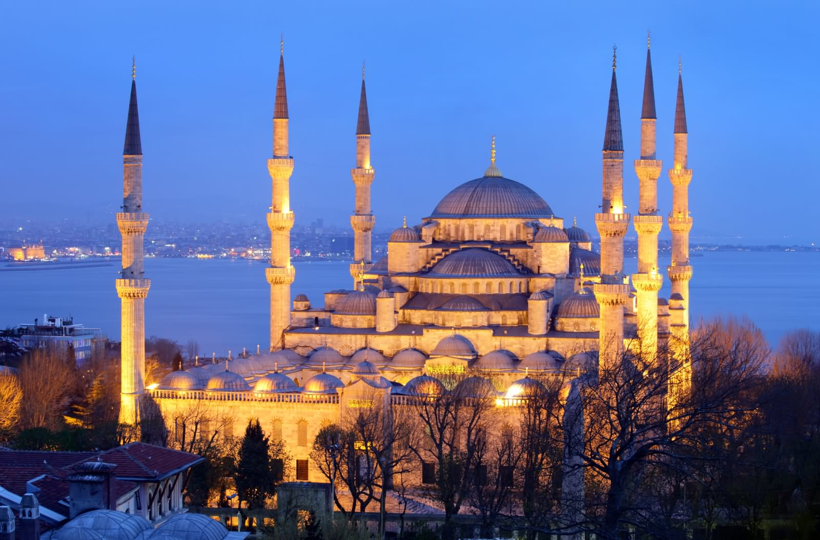 Büyük Valide Han Istanbul, The Blue Mosque, Istanbul During Sunset