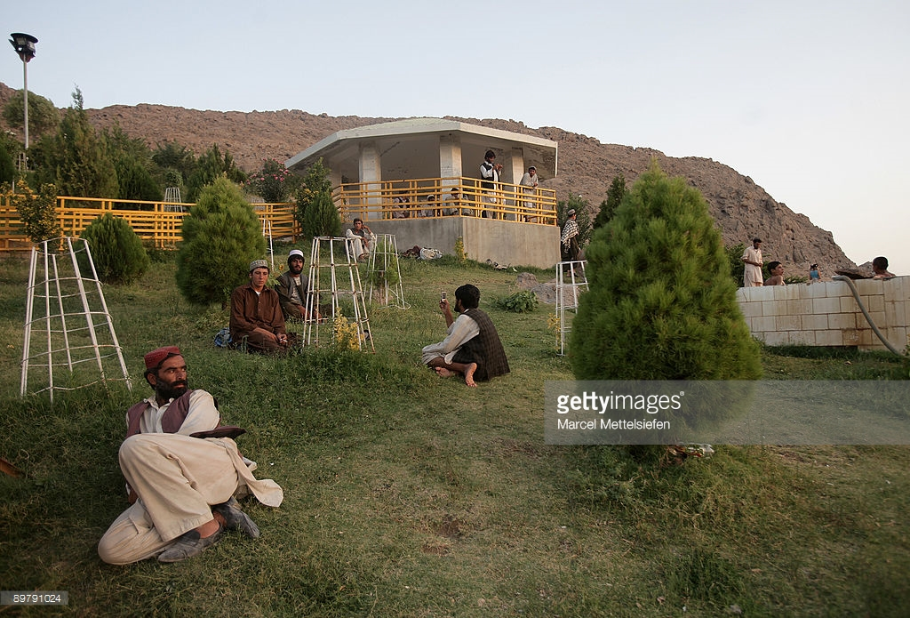 Baba Wali Shrine Kandahar, Afghanistan Prepares For Elections Photos and Images | Getty Images