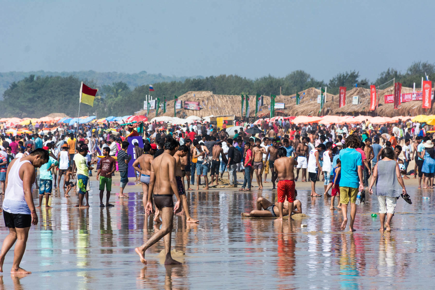 Baga Beach Goa, Baga Beach Goa - history and nearby attrection and pictures