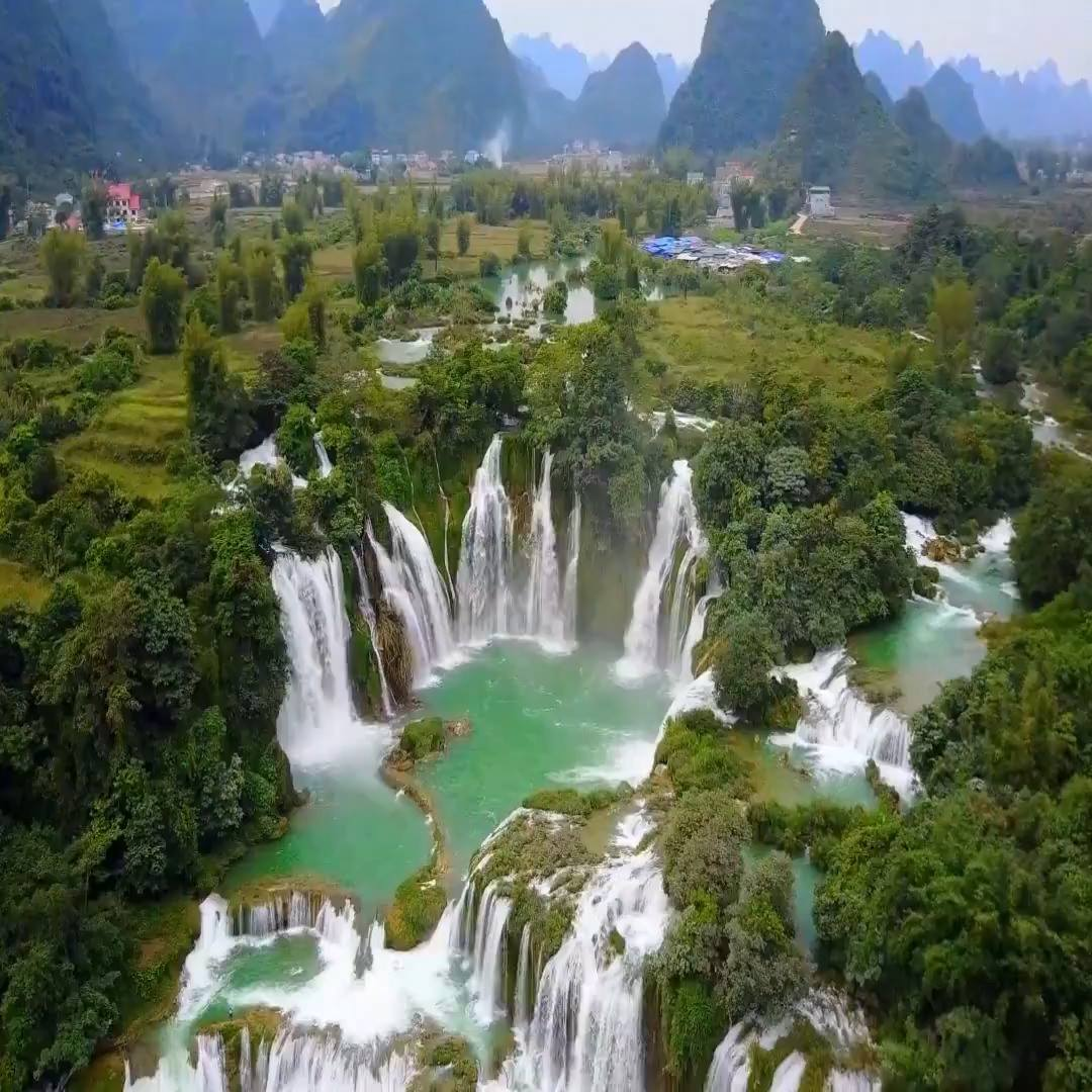 Ban Gioc Waterfall Cao Bang, Ban Gioc Waterfall Cao Bang Vietnam - Tag Friends - Watch or ...