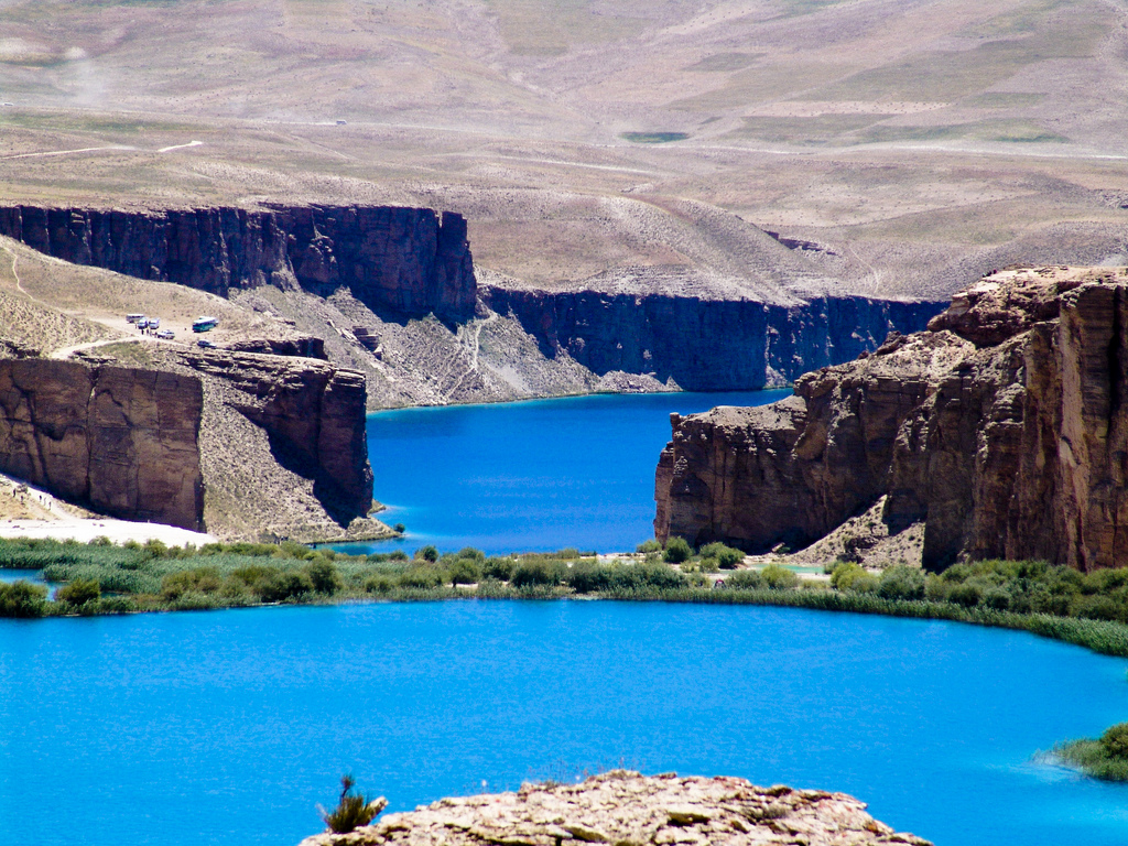 Band-e-Amir Central Asia, Band-E- Amir #Afghanistan #travel #places www.beyondguidebook.com ...