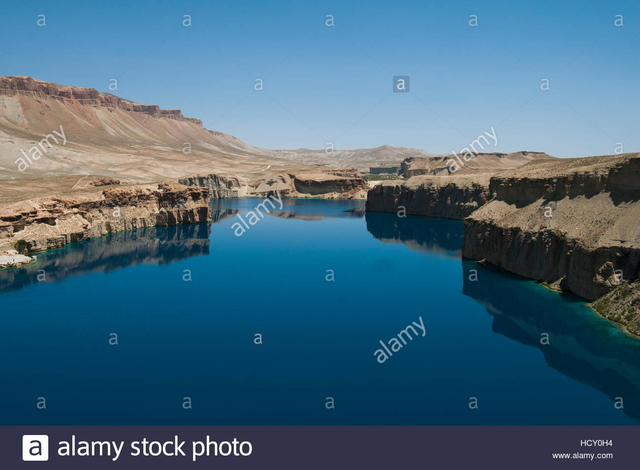Band-e-Amir Central Asia, The spectacular deep blue lakes of Band-e Amir in central ...