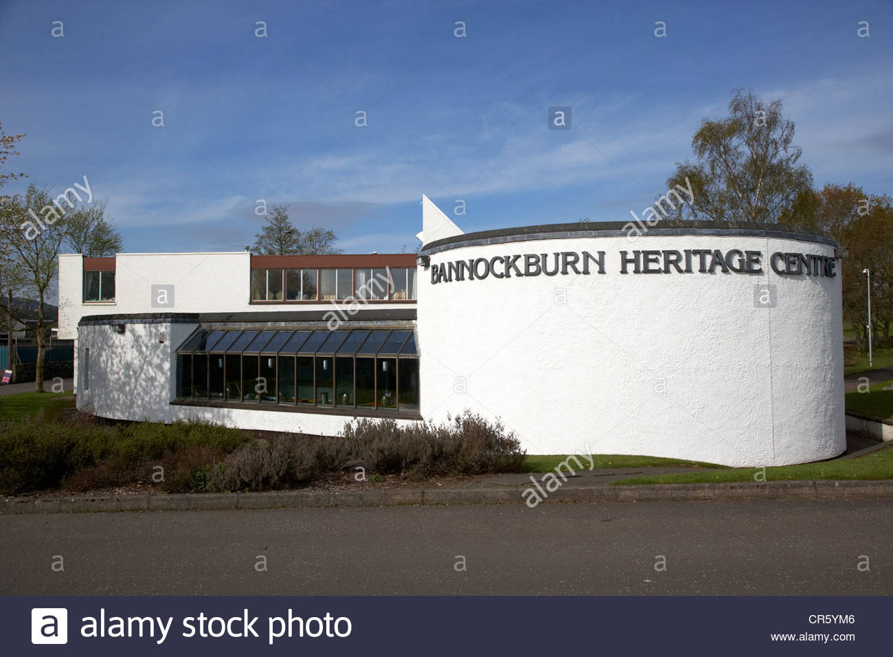 Bannockburn Heritage Centre Stirling, the bannockburn heritage centre stirling scotland uk Stock Photo ...
