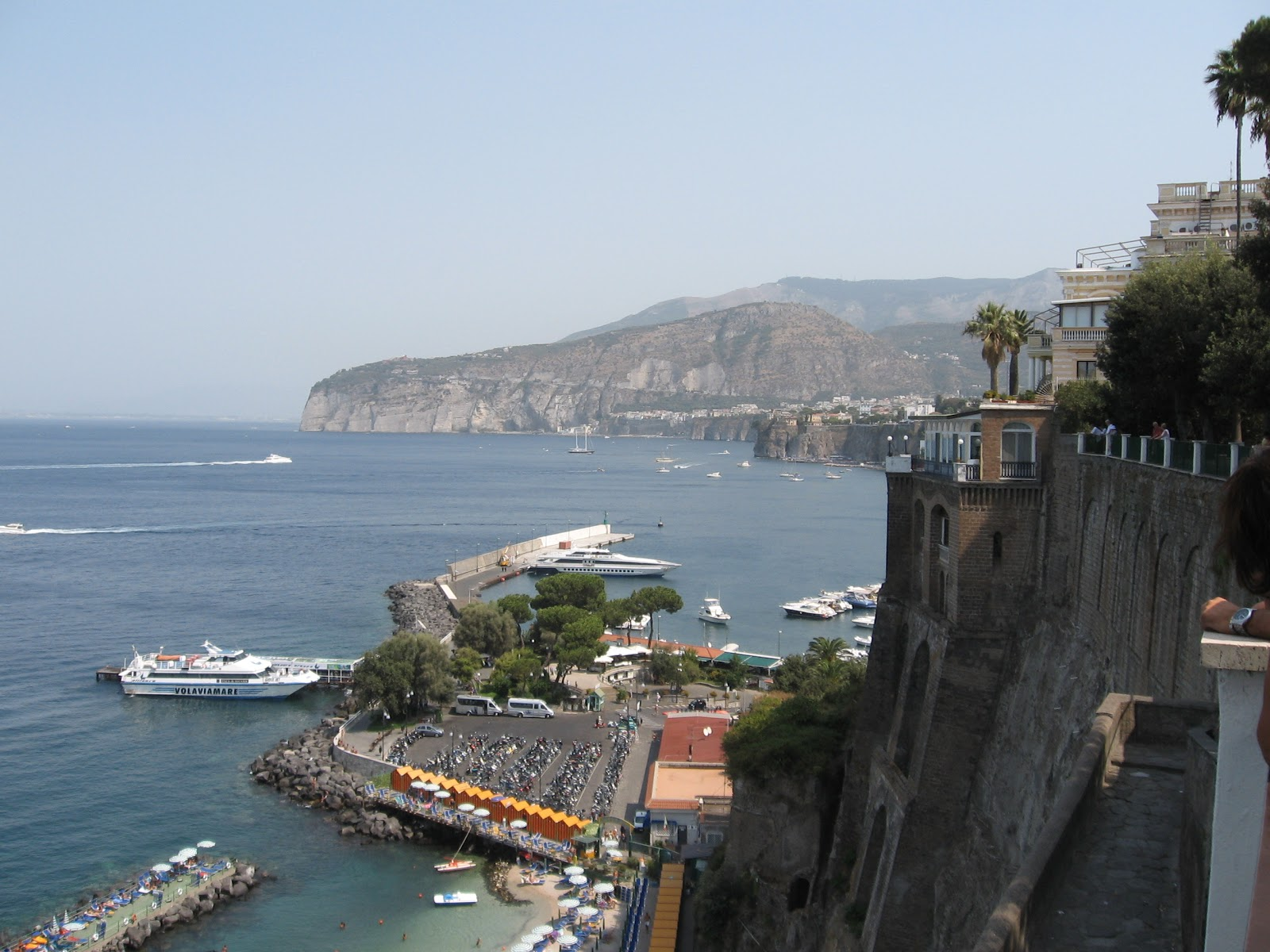 Bar Villa Comunale Sorrento and the Sorrentine Peninsula, Spectacular view from Villa Comunale |Best of Sorrento