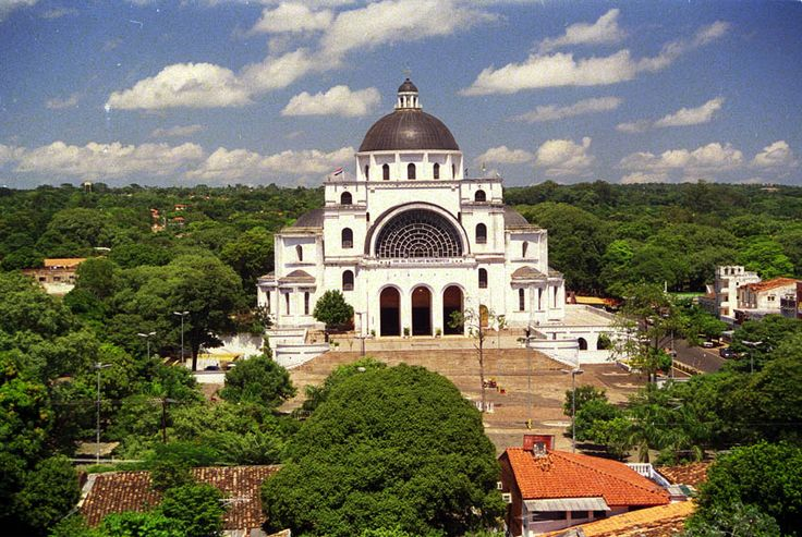 Basilica de Caacupé Around Asunción, Basilica de Caacupe, Paraguay. It's how my mom and dad got ...