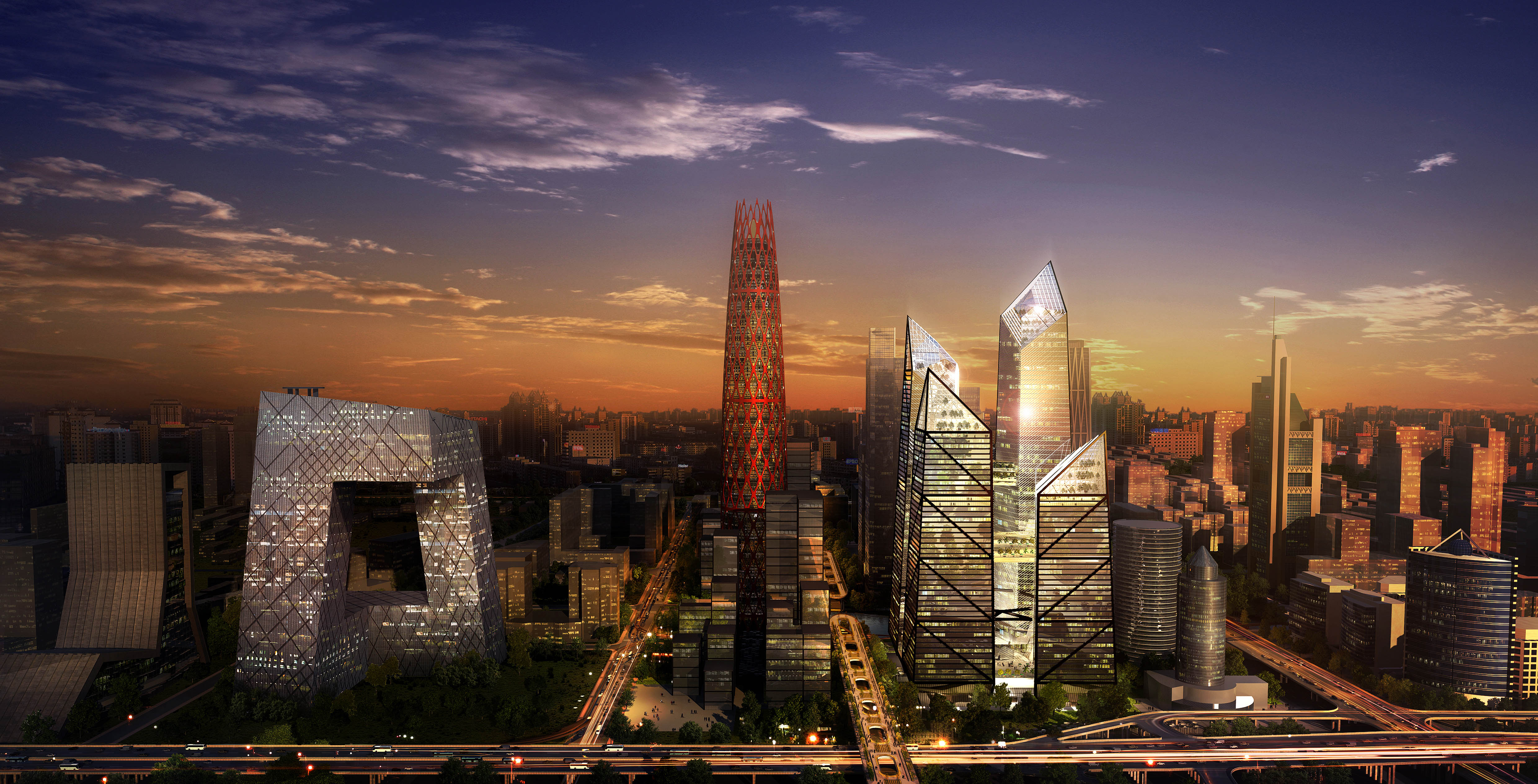 Beijing Central Business District, Beijing CBD | studio suit