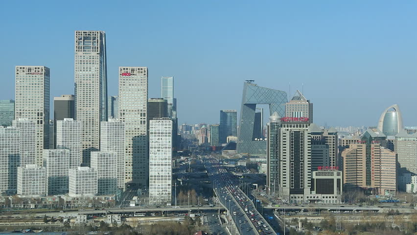 Beijing Central Business District, Beijing Cbd Stock Footage Video | Shutterstock