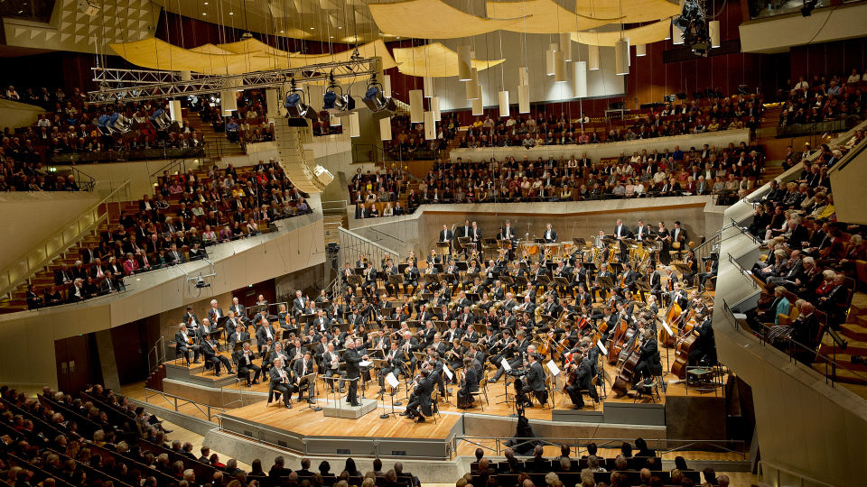 "Berliner Philharmonie Berlin, concert ""50 years of the Berlin Philharmonie"""