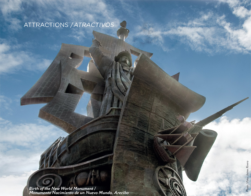 Birth of the New World Statue Arecibo, North « ¡Qué Pasa!
