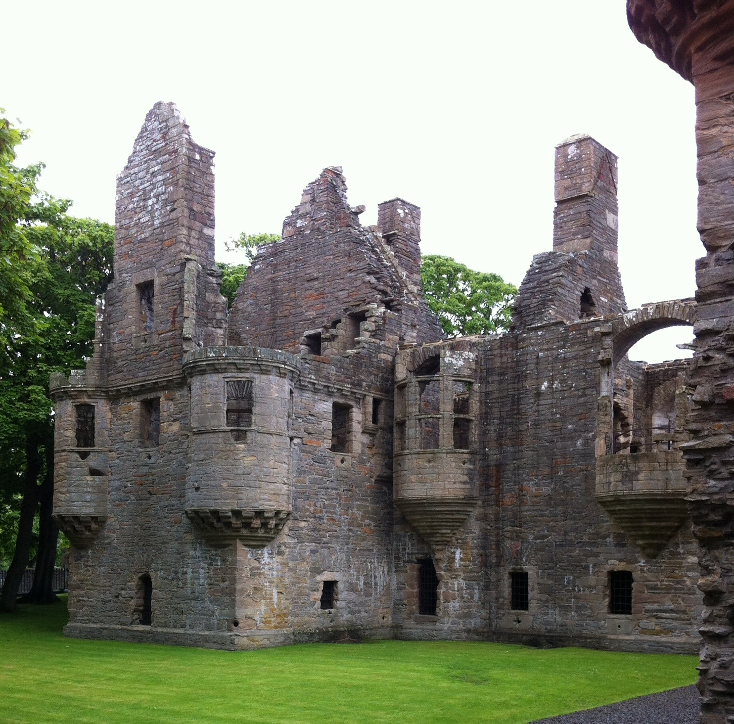 Bishop's and Earl's Palaces Orkney and Shetland Islands, The Bishop's Palace in Kirkland, Orkney Islands, Scotland ...